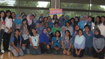 Peserta Writing Clinic majalah Femina 2013