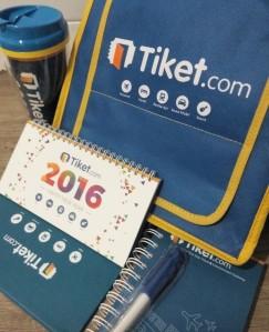 Merchandise dari Tiket.com untuk Melengkapi Perjalanan Anda!