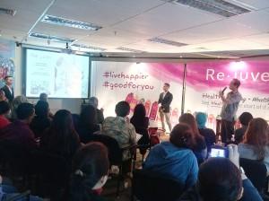 Open House Gathering Re.juve, Jum'at 26 Februari 2016 di Chase Plaza Podium, Jakarta. (foto dok.pribadi)