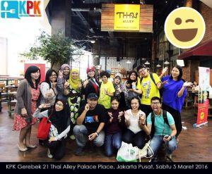 Kumpul-Kumpul Kompasiana Penggila Kuliner di Thai Alley Pacific Place, Sabtu 5 Maret 2016 (foto: Rahab Ganendra).