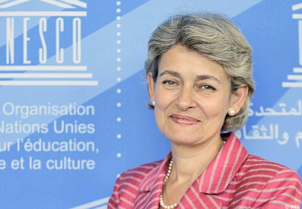 Irina Bokova, Dirjen UNESCO 2009-2017 menghargai keberagaman di Indonesia. (foto sumber: portal.unesco.org)