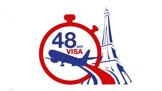 Beberapa negara di Eropa sudah memberlakukan aturan visa 48 jam. Artinya, aplikasi visa Anda akan diproses dalam waktu 2 hari kerja saja asalkan semua persyaratan dilengkapi. (foto: ambafrance-id.org)