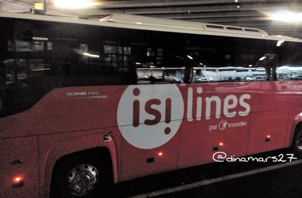 Bus antarkota atau antarnegara di Eropa tak kalah hebat fasilitasnya dengan kereta atau pesawat: wifi, colokan listrik, reclining seat, dll. (foto: dok.pri)