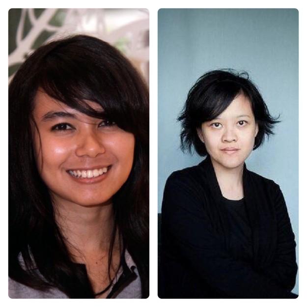 Kamila Andini (kiri) dan Mouly Surya (kanan), sineas wanita muda Indonesia yang berkiprah di ajang festival film internasional. (foto sumber: indonesianfilmcenter.com)