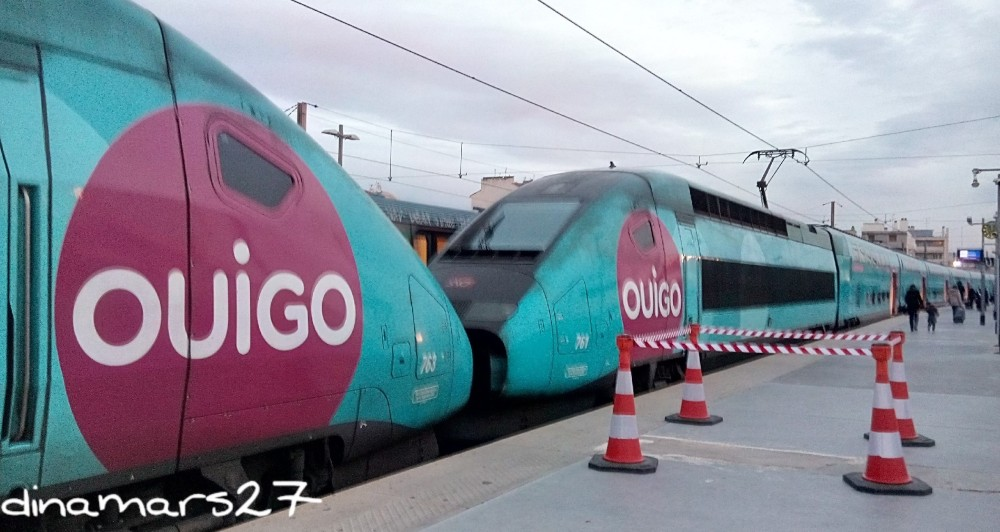 Bahkan kereta pun sekarang ada yang jenis low-cost :). Kereta yang saya naiki ini membawa saya dari Marseille ke Paris dengan tiket 10 Euros saja. (foto: dok.pri)