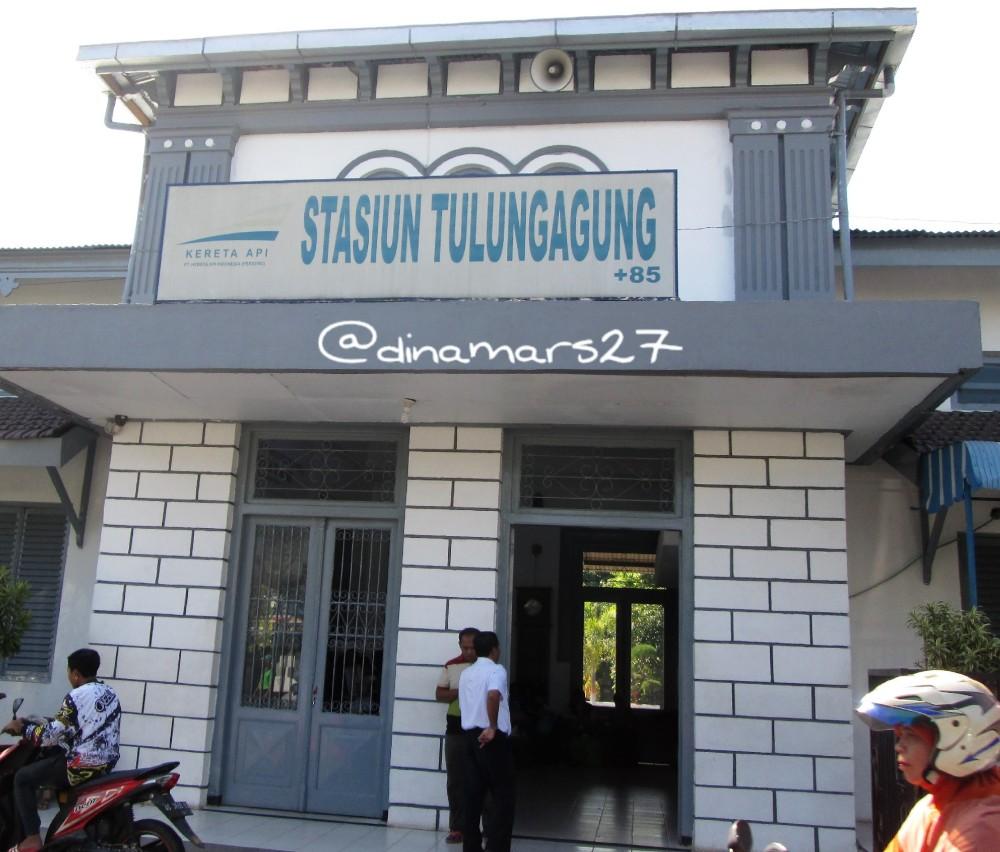 Stasiun Tulungagung. (foto: dok.pri)