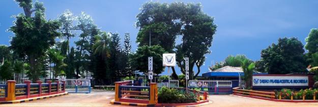 Pabrik yang memproduksi Theragran-M, PT Taisho Pharmaceutical Indonesia, Tbk. Terletak di Jl.Raya Bogor, Cimanggis-Deok. (foto sumber: taisho.co.id)