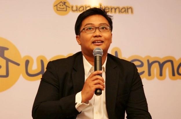 CEO Uang Teman, Bapak Aidil Zulkifli, ternyata masih muda ya :D. (foto: digitalnewsasia.com)