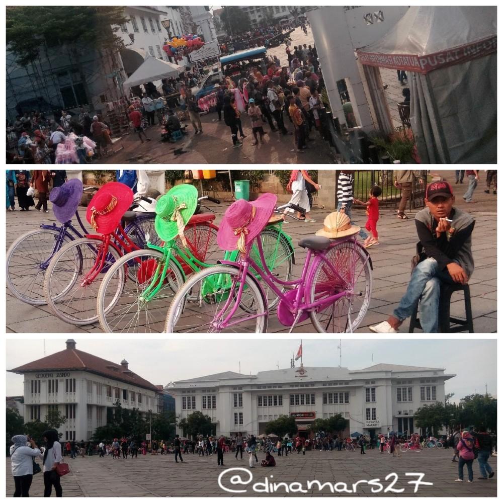 Kota Tua Jakarta terus berbenah demi mencapai misi menjadi situs bersejarah warisan dunia (World Heritage) oleh UNESCO tahun 2017 nanti. (foto: dok.pri)