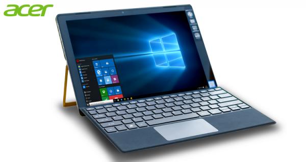 Acer Switch Alpha 12 Notebook 2in1 cocok banget untuk melakukan pekerjaan multitasking. (foto sumber: acerid.com)