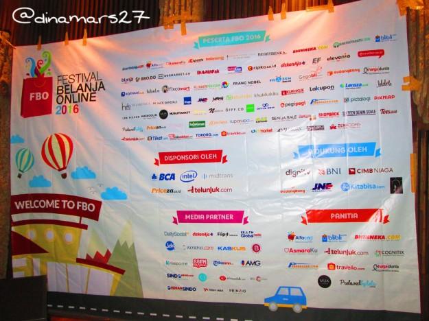 Ada sekitar 75 merchant e-commerce yang ikutan Festival Belanja Online 2016. (foto: dok.pri)