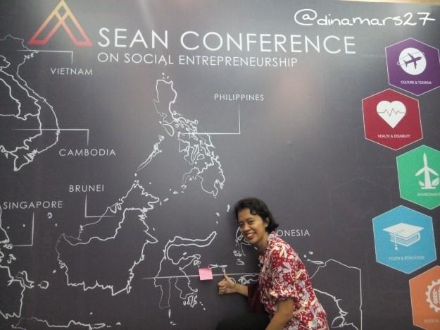 Konferensi ASEAN mengenai kewirausahaan sosial di Hotel Bidakara Jakarta, 24-26 Oktober 2016. (foto: dok.pri)