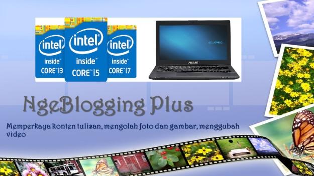 Aktivitas ngeblog jaman sekarang: selain memperkaya isi konten, juga harus bisa mengolah gambar dan foto, bahkan membuat video! (gambar: dokpri)