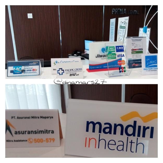 Meskipun tidak menerima asuransi BPJS, tetapi klinik Amara Aesthetics menerima asuransi-asuransi kesehatan dari perusahaan swasta seperti foto di atas. (foto: dokpri)