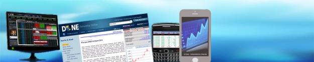 Danareksa Multi Investment Account Online, disingkat DMIA Online, merupakan rekening online bagi para nasabah Danareksa yang ingin melakukan berbagai fungsi dalam satu akun: jual beli saham, obligasi, berlangganan reksadana, dsb. (foto sumber: website reksadanaonline.com)