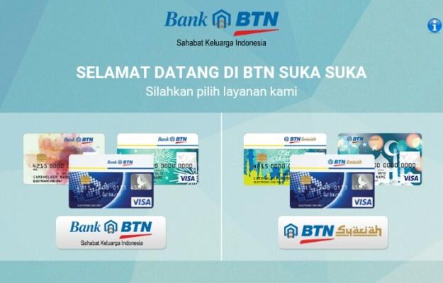 Melalui fitur Kartu Suka-Suka, nasabah dapat memilih sendiri disain kartu debit/kreditnya di mobile apps BTN Digital Solution. (foto: dokpri)