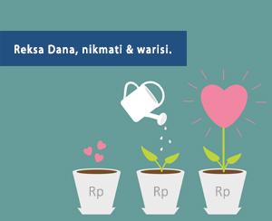 berinvestasi reksadana itu seperti layaknya menanam bunga di pot: diberi pupuk, disiram, lalu bunganya akan tumbuh dengan indah. Begitu pula dengan berinvestasi semestinya dilakukan dengan tekun agar berbuah hasil yang indah. (foto: website danareksaonline.com)