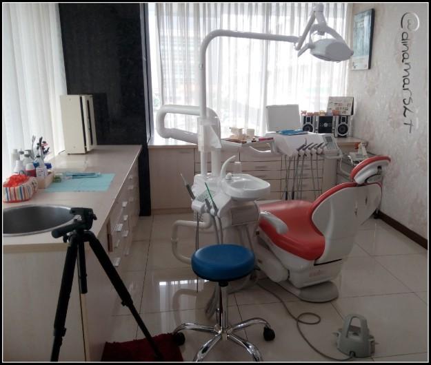 Ruang perawatan gigi yang nyaman di klinik Amara Aesthetics. (foto: dokpri)